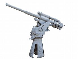 picture of cannon  - Ship cannon of period 1941  - JPG