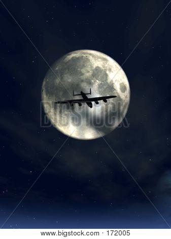 Moonshine And Plane 2