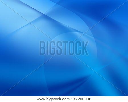 Resumen fondo azul, render 3d