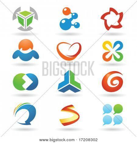 Set of vector design elements 1
