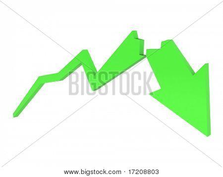 green crash diagram
