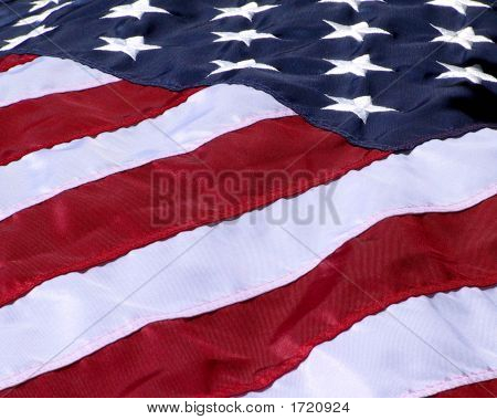 Flag At An Angle