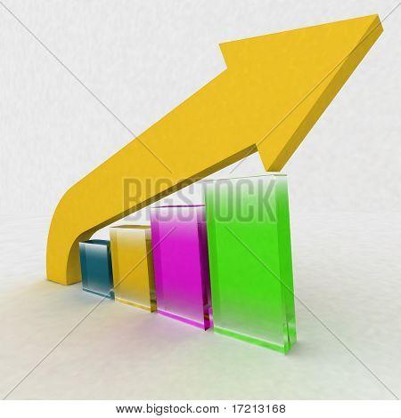 Diagram of rise
