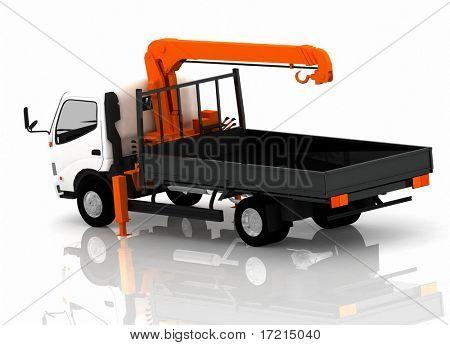 Carro de remolque de coches