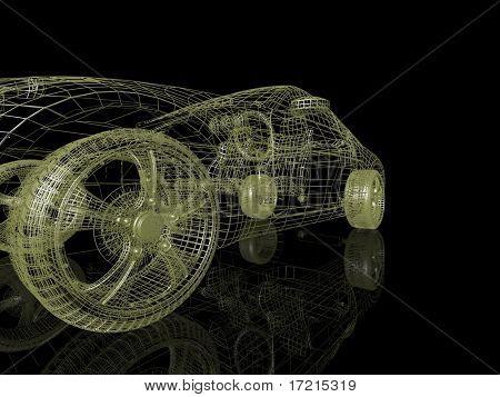 closeup of wheels of machine.