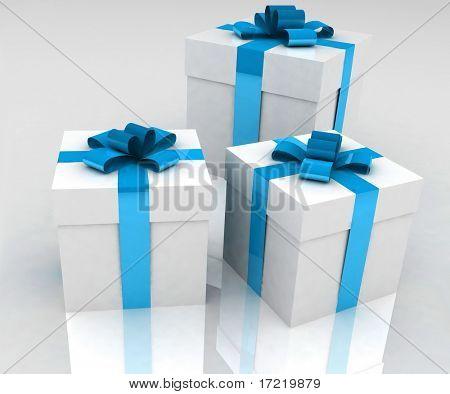 caixas de presente bonito