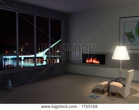Habitación con vistas a la