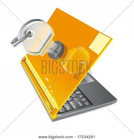 Vector Notebook Lockable