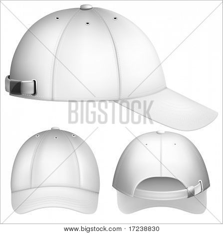 Vector illustration of baseball cap.