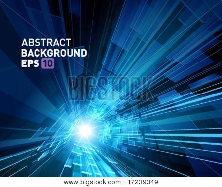 Virtual technology vector background. Eps 10.