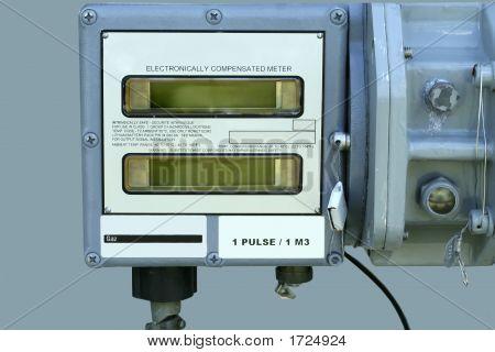 Electronic Gas Meter