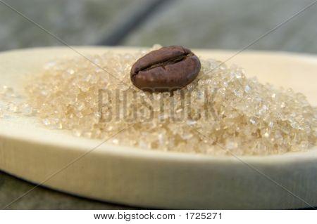 Coffee Bean And Sugar 01