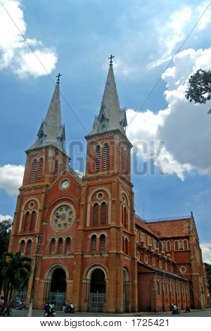Saigon'S Notre Dame Cathedral