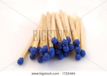 Matches Blue