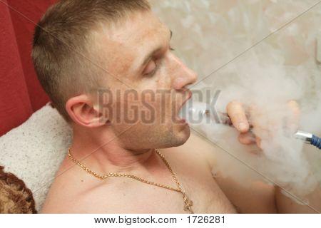 Man Relaxs