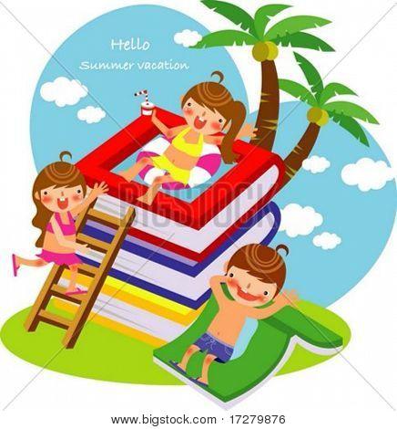 Summer Kids Story