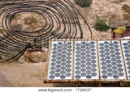 Energía Solar casera
