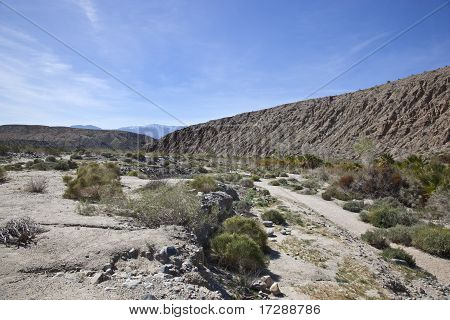 San Andreas Fault in the Coachella Valley, California
