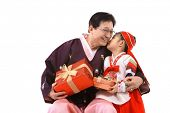 pic of hanbok  - Grandfather and Child - JPG