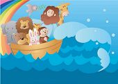 stock photo of noah  - Bible Story - JPG