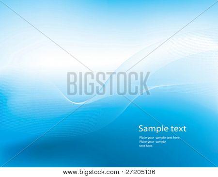 abstrakt blau Design-Hintergrund