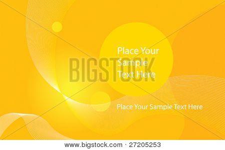 fondo amarillo abstracto vector