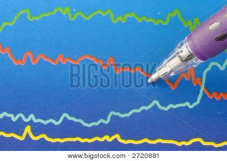 Colorful Business Chart