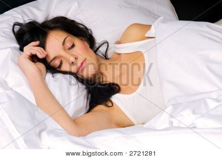 Young Woman Sleeping