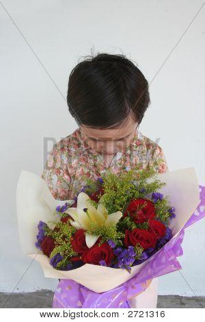 Muchacho con Bouquet