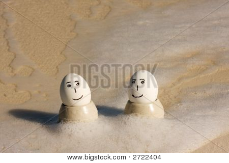 Eggs On Vacation