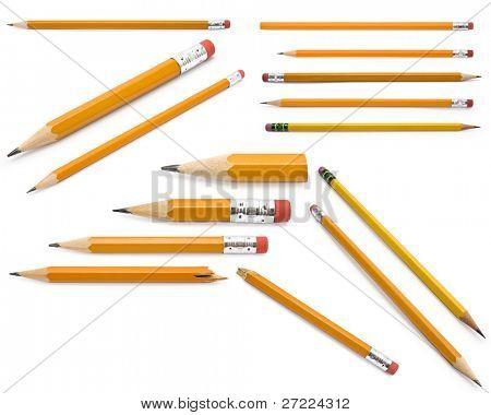 Bleistifte Sammlung