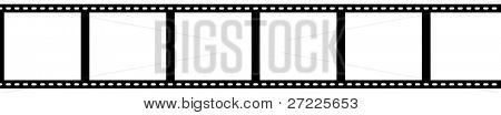 Strip 35 mm-Film mit Beschneidungspfade
