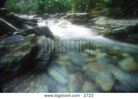 Río escénico