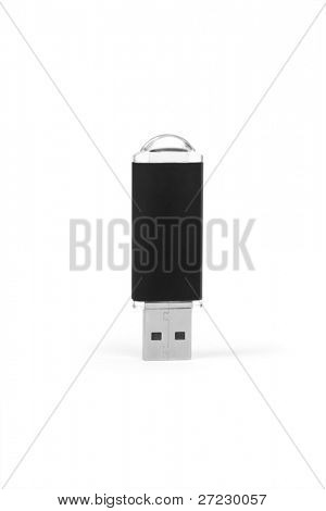 Usb flash memory isolated on white backround