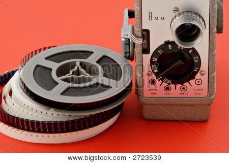 Movie Camera & Reels