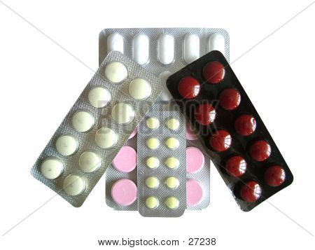 Colorful Tablet Strips
