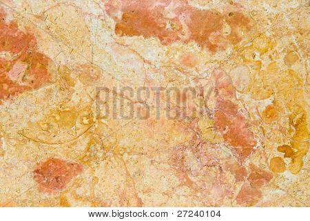 Marmor Arbeitsplatte zeigt ausgezeichnete Detail der bunt Venen und Muster.