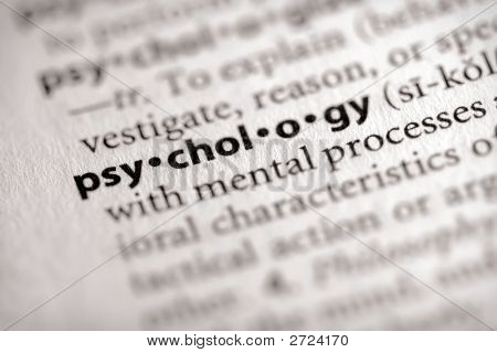 Dictionary Series - Science: Psychology