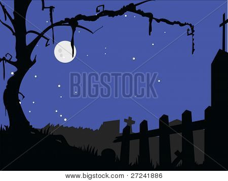 Haunted Halloween Friedhof