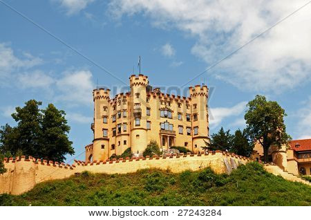 Neuschwangau Castle in Germany