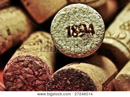 Old wine cork