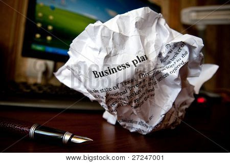 Bad business plan. Series