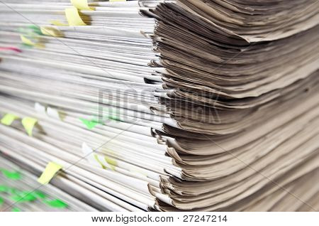 Overflowing Paperwork Inbox