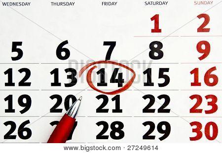Calendar. Series