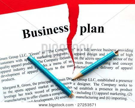 disrupted form of business plan