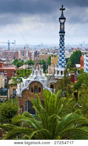 Park Guell in Barcelona - One of the best tourist attractions