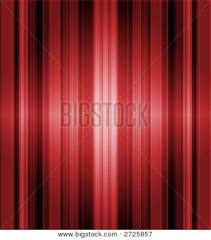 Striped Red Metallic Background