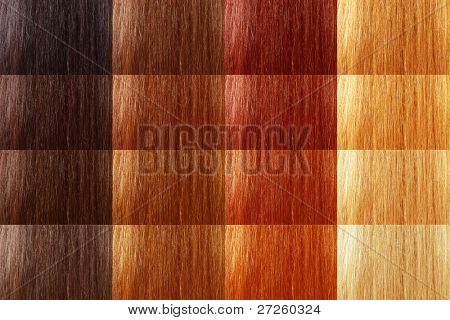 natural tint color hair large set