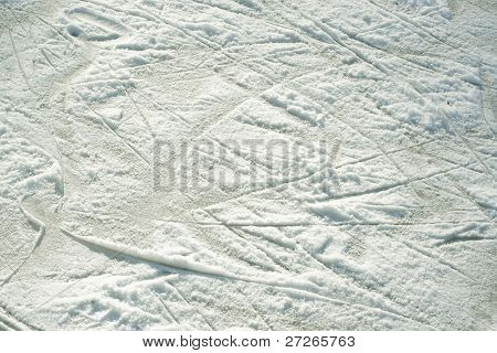 the image of the snow-covered skate