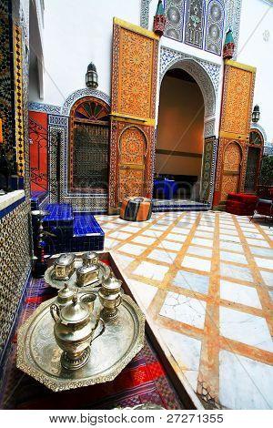 Moroccan interior architecture